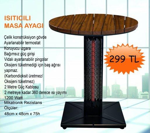 Isıtıcılı Masa Ayağı1